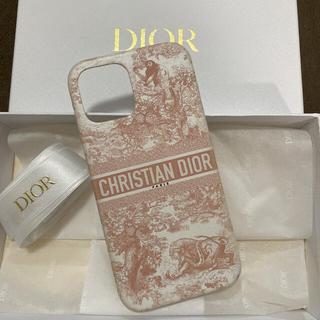 クリスチャンディオール(Christian Dior)のDIOR ディオール iPhone12promax ケース ピンク(iPhoneケース)