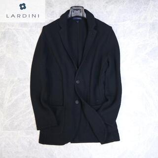 ブルネロクチネリ(BRUNELLO CUCINELLI)のラルディーニ 7万最高級ブラックニットジャケット(テーラードジャケット)