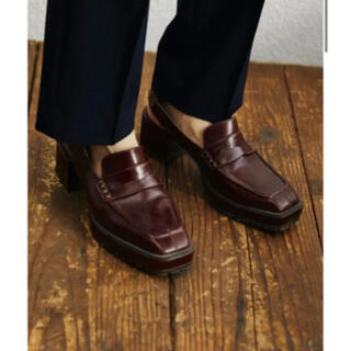 アメリヴィンテージ(Ameri VINTAGE)の大人気品薄✨‼️❤️AMERI❤️SQUARE LOAFER SANDALS(ローファー/革靴)