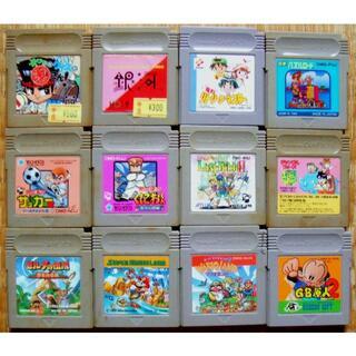 ゲームボーイ(ゲームボーイ)のGB ゲームボーイ用ソフト(ソフトのみ)23本セット ジャンク(家庭用ゲームソフト)