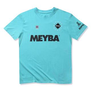 エフシーアールビー(F.C.R.B.)のブリストル  x  MEYBA  ティファニーブルー Tシャツ M(Tシャツ/カットソー(七分/長袖))