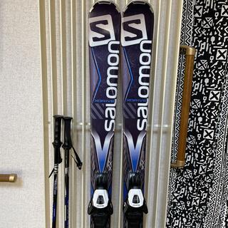 SALOMON - サロモン スキー板 161  ストック付き