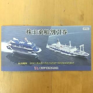 東海汽船 株主乗船割引券 2枚(その他)
