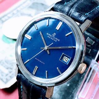 ブライトリング(BREITLING)の#1167【お洒落なブルー】メンズ 腕時計 ブライトリング 動作良好 (腕時計(アナログ))