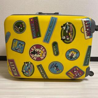 ディズニー(Disney)のミッキー&ミニー トランク キャリーバッグ(旅行用品)