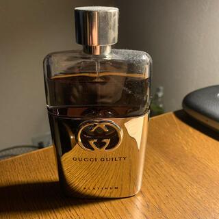 グッチ(Gucci)のGucci プラチナ ブラック 香水(香水(男性用))