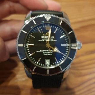 ブライトリング(BREITLING)の(美品)スーパーオーシャンヘリテージ2 42mm(腕時計(アナログ))