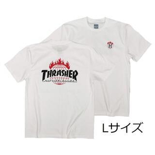 スラッシャー(THRASHER)のスラッシャーTシャツ L スケボー アウトドア ボード サーフィン バイク(Tシャツ/カットソー(半袖/袖なし))