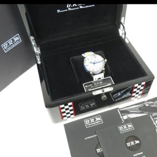 B.R.M腕時計★V6-44★自動巻き★文字盤白★高級★メンズ★箱付(腕時計(アナログ))