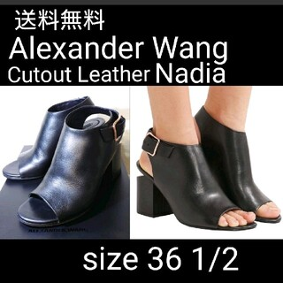 アレキサンダーワン(Alexander Wang)のAlexander Wang チャンキーヒールオープントゥサンダル 36 TD(サンダル)