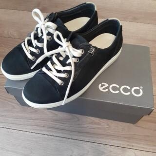 エコー(ECHO)の¥24200→7900【新品未使用】ECCO牛革スニーカー 23.0cm(スニーカー)