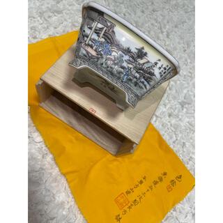 東海道五十三次図長方鉢 新品未使用(陶芸)