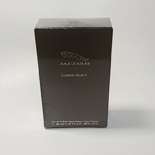 ジャガー(Jaguar)の香水 ジャガー クラッシック ブラック 40ml オードトワレ 新品(香水(男性用))