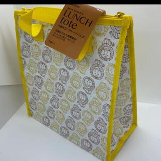 Lisa Larson - リサラーソン  ライオン 不織布ランチトートバッグ  保冷ランチバッグ
