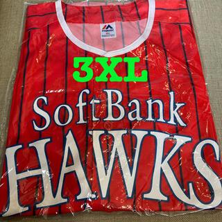 フクオカソフトバンクホークス(福岡ソフトバンクホークス)の鷹の祭典レプリカユニフォーム3XL(ウェア)