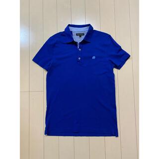 バナナリパブリック(Banana Republic)のバナナリパブリック メンズ 半袖 シャツ ポロシャツ 半袖シャツ M ブルー(ポロシャツ)