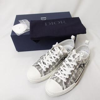 ディオール(Dior)のDIOR スニーカー メンズ ホワイト/ブラック/モノグラム(スニーカー)