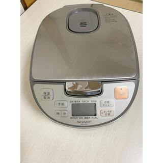 シャープ(SHARP)の5.5合炊き炊飯器(炊飯器)
