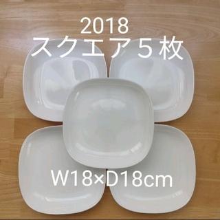 ヤマザキセイパン(山崎製パン)のヤマザキパンまつり お皿 スクエア 5枚セット(食器)