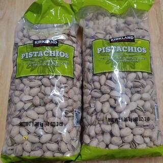 コストコ(コストコ)の『KIRKLAND ピスタチオナッツ』1.36kg × 2袋 セット(その他)
