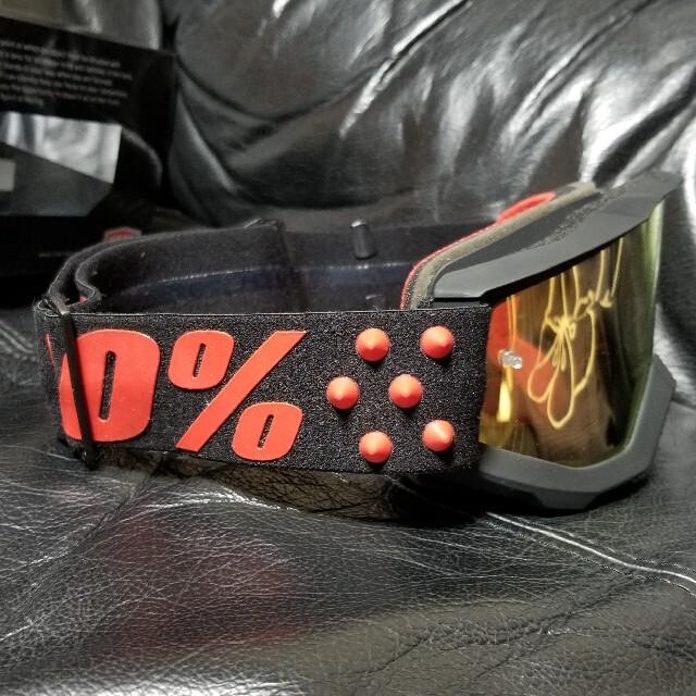 Oakley(オークリー)の100%ゴーグル 自動車/バイクのバイク(モトクロス用品)の商品写真