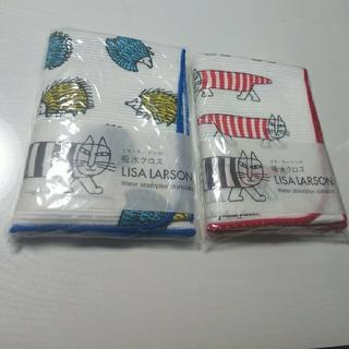 リサラーソン(Lisa Larson)のリサラーソン  吸水クロス 2個セット(収納/キッチン雑貨)