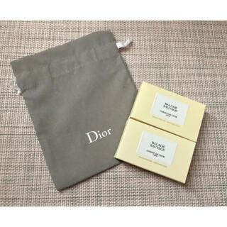 ディオール(Dior)の【新品】Dior メゾンクリスチャンディオール ソバージュ ソープ &巾着セット(ボディソープ/石鹸)
