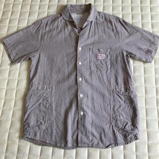 coen - COEN×SMITH'S コーエン スミス コラボ ストライプ シャツ Sサイズ