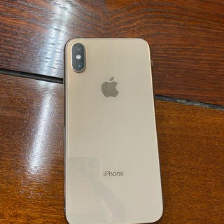 アイフォーン(iPhone)のiPhone xs gold 256gb simフリー(スマートフォン本体)