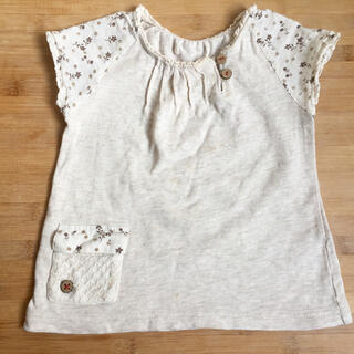 キムラタン(キムラタン)のキムラタン ❇︎ Tシャツ 80 ナチュラル(Tシャツ)