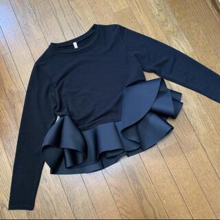 ロンハーマン(Ron Herman)のダイバー素材フリルロンT(Tシャツ(長袖/七分))