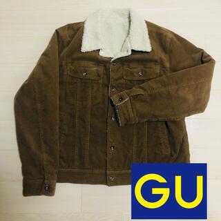 ジーユー(GU)のボアコーディロイジャケット(GU)(その他)