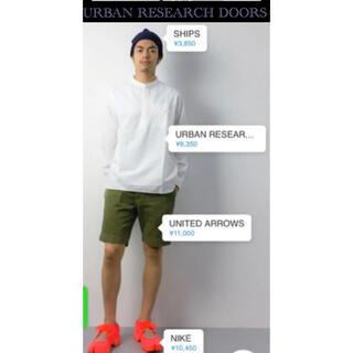 ドアーズ(DOORS / URBAN RESEARCH)のURBAN RESEARCH DOORS スナップバンドカラープルオーバーシャツ(シャツ)