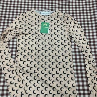マルタンマルジェラ(Maison Martin Margiela)のMARINE SERRE マリーンセル オールオーバームーントップス M(Tシャツ(長袖/七分))