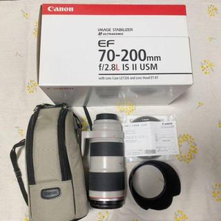 キヤノン(Canon)のCanon ズームレンズ EF70-200mm F2.8L IS II USM(レンズ(ズーム))