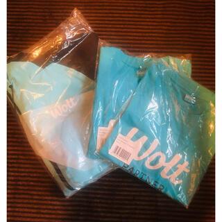 woltTロゴ入りTシャツ ジャケット セット 配達 デリバリー(Tシャツ/カットソー(半袖/袖なし))