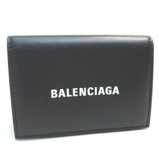 バレンシアガ(Balenciaga)の未使用 バレンシアガ ユニセックス キャッシュミニウォレット 3つ折り財布 黒(折り財布)