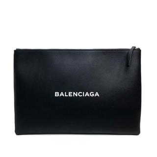 バレンシアガ(Balenciaga)のバレンシアガ 485112 ユニセックス LOGO CLIP L クラッチバッグ(クラッチバッグ)