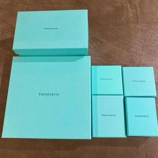 ティファニー(Tiffany & Co.)のTIFFANY & Co. 空箱セット(小物入れ)