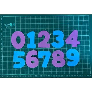 数字 0〜9  アルファベット マンスリーフォト(その他)