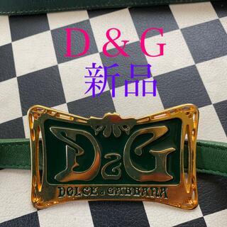 ドルチェアンドガッバーナ(DOLCE&GABBANA)の[✨D&G ヴィンテージ ベルト 個性的✨](ベルト)