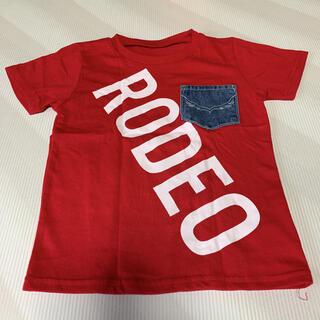 ロデオクラウンズワイドボウル(RODEO CROWNS WIDE BOWL)のRODEO CRAWNS  【120】Tシャツ(Tシャツ/カットソー)