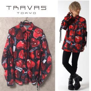 ミルクボーイ(MILKBOY)のTRAVAS TOKYO Emotional scars shirts ハート柄(シャツ)