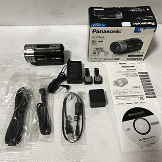 パナソニック(Panasonic)のパナソニック デジタルハイビジョンビデオカメラ V720 内蔵メモリー64GB (デジタル一眼)