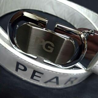 パーリーゲイツ(PEARLY GATES)のパーリーゲイツ PGベルト調節可能 ホワイト(ベルト)