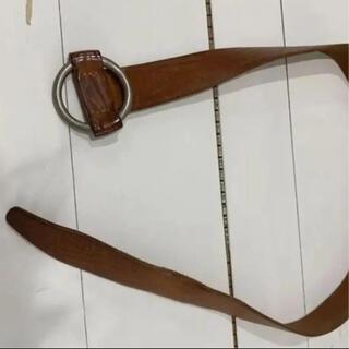 マルタンマルジェラ(Maison Martin Margiela)の【定価7.7万】Margiela single ring belt リングベルト(ベルト)