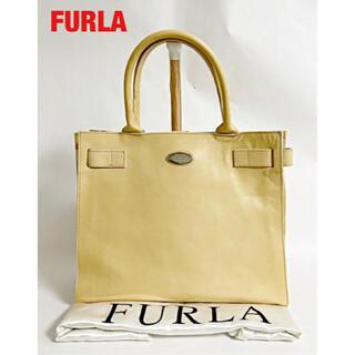 フルラ(Furla)の【高級】FURLA フルラ ハンドバッグ オールレザー ベルト エレガント(ハンドバッグ)
