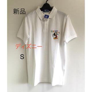 ディズニー(Disney)の新品 ディズニー ポロシャツ メンズ  S(ポロシャツ)