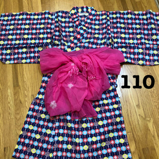 アンパサンド(ampersand)のampersand 110cm セパレート 浴衣 セット(甚平/浴衣)