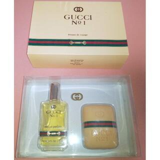 グッチ(Gucci)の未使用 グッチ GUCCI No.1 60ml 香水 no1 石鹸 セット(ユニセックス)